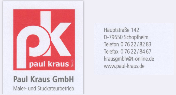 Paul Kraus Maler- und Stuckateurbetrieb